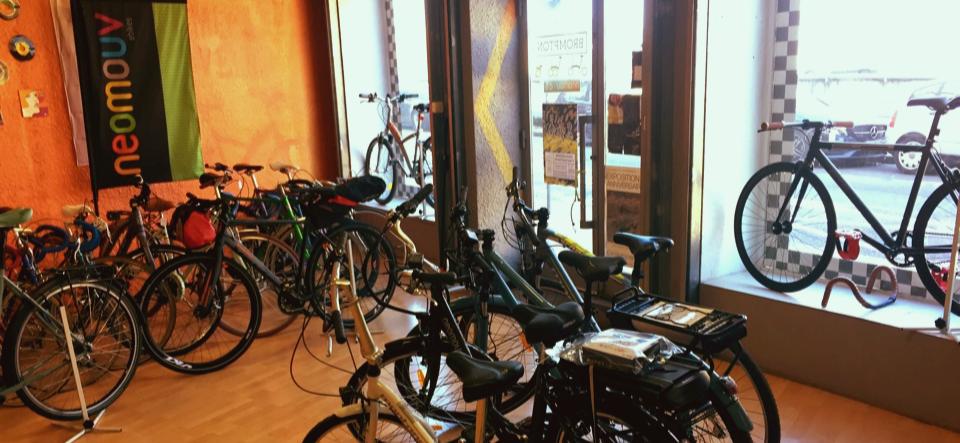 services d'entretien de vélos en magasin